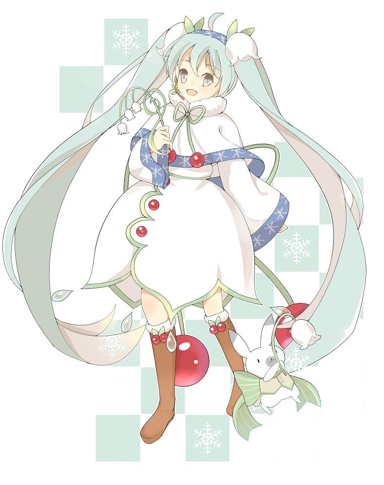 【原创】雪miku2015