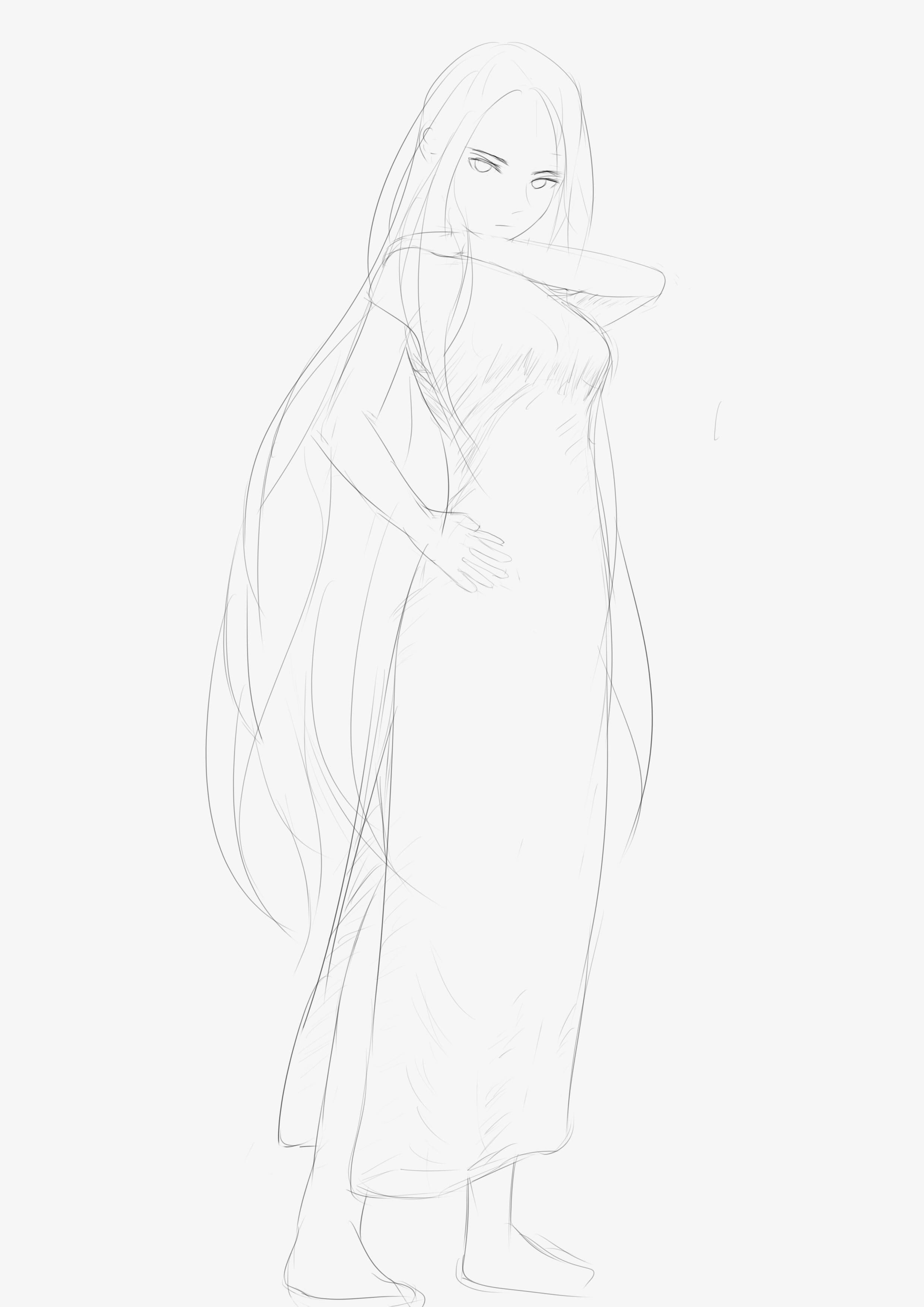 画女孩子总想画旗袍 有病得治啊